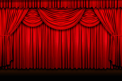 Closed curtains intermission - Rideau De Scene Homeinterior Bloguez Com