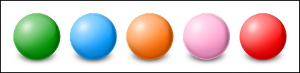 Colorful ball icon png
