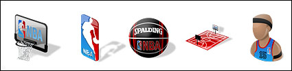 Nba jeu de basket-ball th��me d